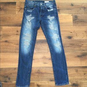 Men's G star Raw jeans slim restored denim line 30
